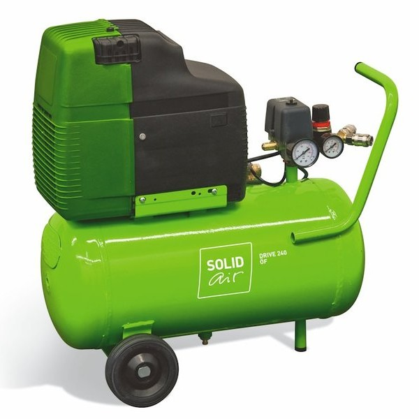 Поршневой компрессор SOLIDdrive 240 OF