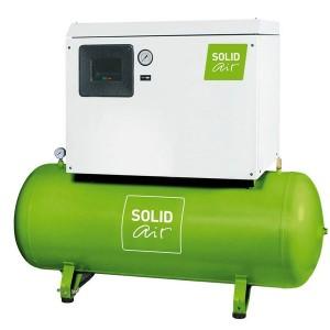 Поршневой компрессор SOLIDbase 470-10 / 680-10 silent, с впрыском масла, ресивер 270 л, производительность 380 - 540 м³/мин, мощность 3 - 4 кВт, давление 10 бар