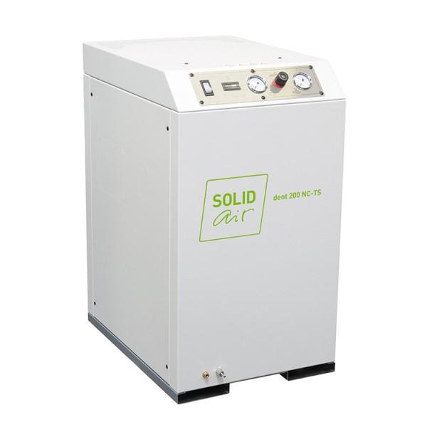 Безмасляные компрессоры для стоматологии SOLIDdent BASIC 200 NC-TS – 250 NC-TS
