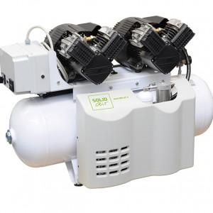 Безмасляные компрессоры для стоматологии SOLIDdent Doppelanlagen 400 AT-T и 500 AT-T
