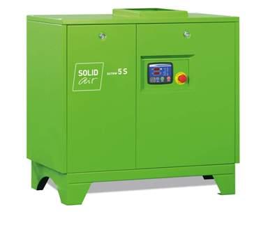 Винтовой компрессор SOLIDscrew 5S
